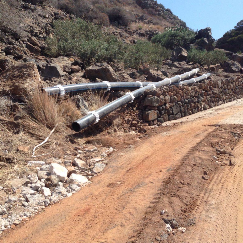 Il tubo da proteggere  dai fenomeni corrosivi