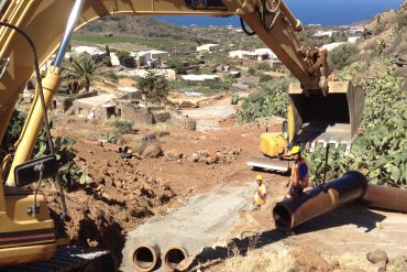 Panoramica cantiere